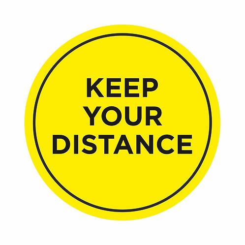 Keep Your Distance - Indoor Floor Vinyls
