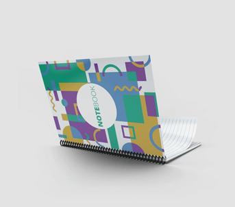 A5 Wirebound Book