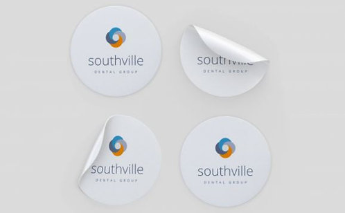 37mm Diameter Surface Stickers (Personalised)