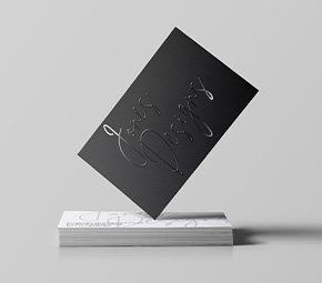 Personalised Business Cards (Spot UV)