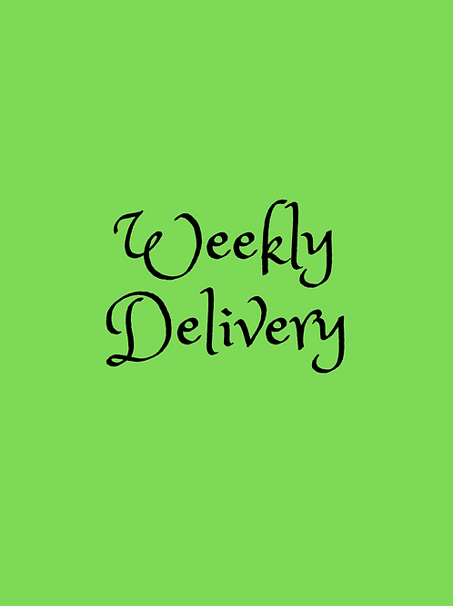 Subscription - Weekly Deliveries