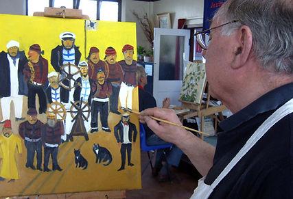 John's painting.