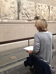 Discuss, view and draw at London's museums