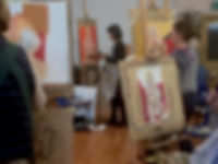 Life Painting Class at Richmond School of Painting
