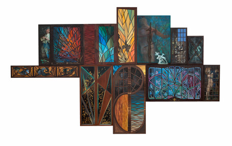 The Space Within (Polyptych)