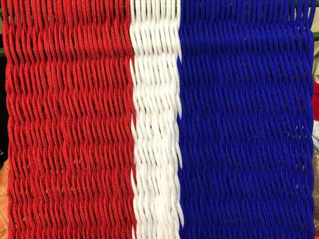 編み編みチェア