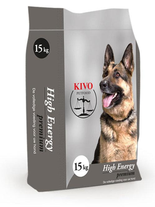 Kivo Petfood brokken High Energy Premium (Krokant)