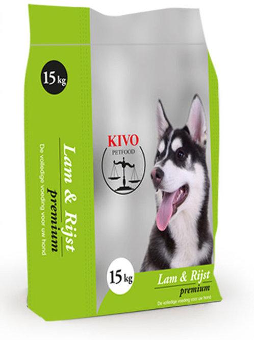Kivo Petfood brokken Lam & Rijst Premium (Krokant)