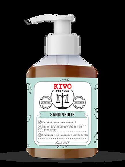 Kivo Petfood Sardineolie Wildvang