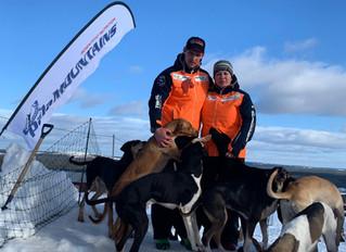 Stefan en Ilse winnen Europees Kampioenschap Sledehonden
