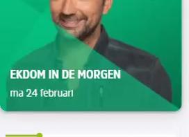 Stefan Donker vanmorgen bij Gerard Ekdom op Radio 10