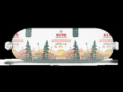 Kivo Petfood houdbare worst gestoomde kip & zalm 12 rollen  (per worst 600 gram