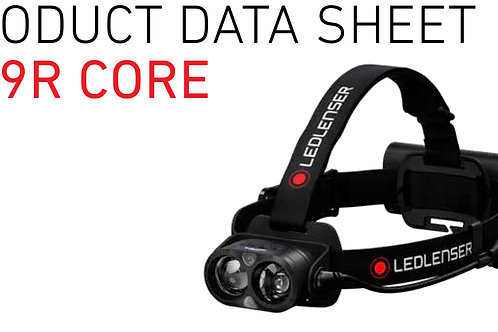H19R, CORE, headlamp rechargeable, 4 LF, Dimm, red light, Transport Lock