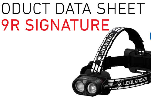 H19R, SIGNATURE, headlamp rechargeable, 4 LF, Bluetooth, Dimm, red light, Transp