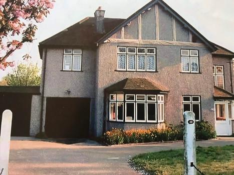 1930 Pebbledash House