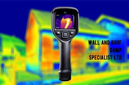 Thermal imaging for Damp inspection