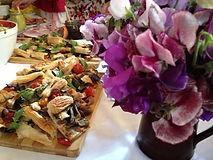 Brooks Cooks Suffolk Catering wedding mediterranean tart