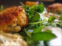 Brooks Cooks Suffolk Catering wedding haddock fishcakes