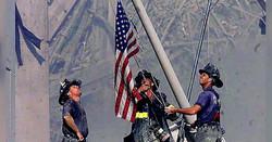 twin tower firefighers in rubble2