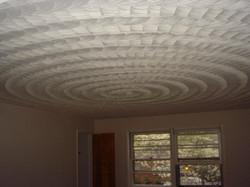 Beautiful Swirled Ceilin