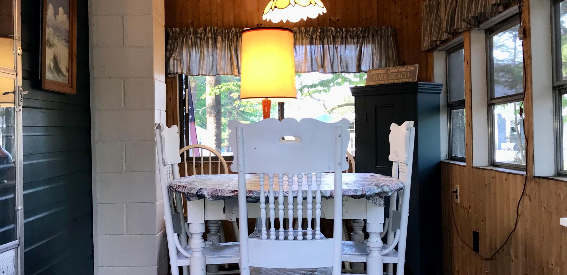 Porch/Dining Area