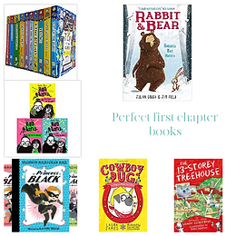 A quick guide to first chapter books.