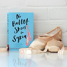 Ballet shoes in Syria