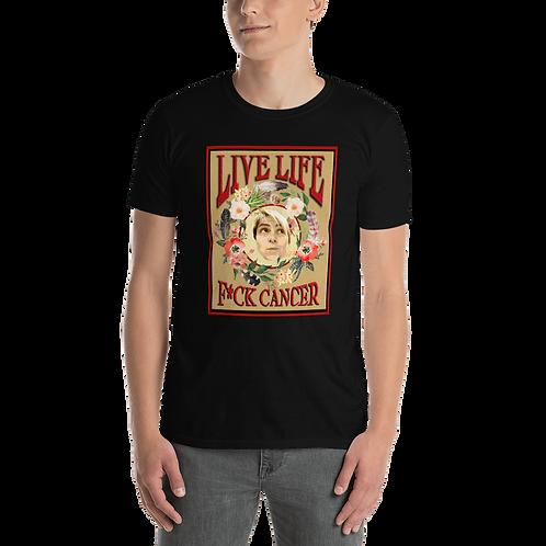 """""""Live Life"""" Short-Sleeve Unisex T-Shirt"""