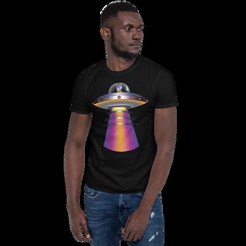 """""""UFO Beam"""" Short-Sleeve Unisex T-Shirt"""