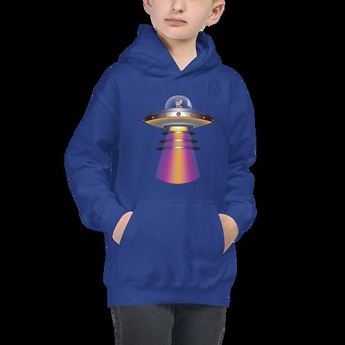 """""""UFO Beam"""" Kids Hoodie"""