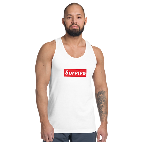 """Survive"" American Apparel Classic Tank Top (unisex)"