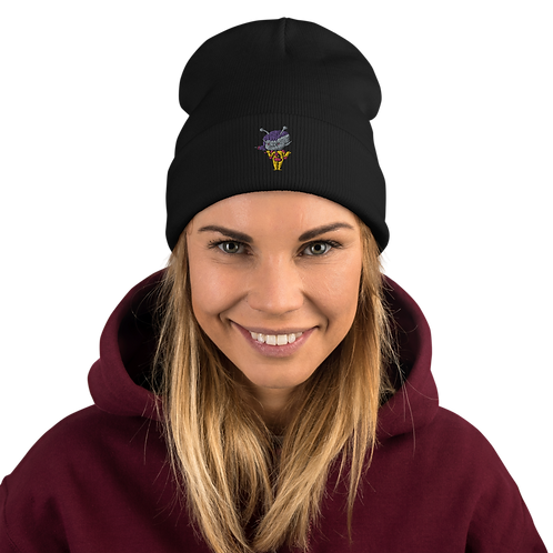 """""""Trilly the Alien"""" Embroidered Beanie"""