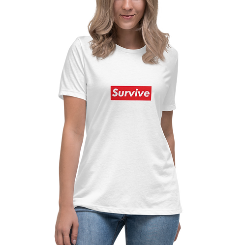 """Survive"" Women's Relaxed T-Shirt"