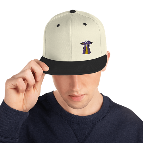 """UFO Beam"" Snapback Hat"