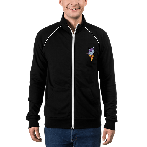 """""""The Life Beam"""" Piped Fleece Jacket"""