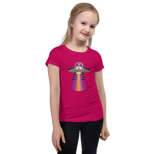 """UFO Beam"" Girl's T-Shirt"