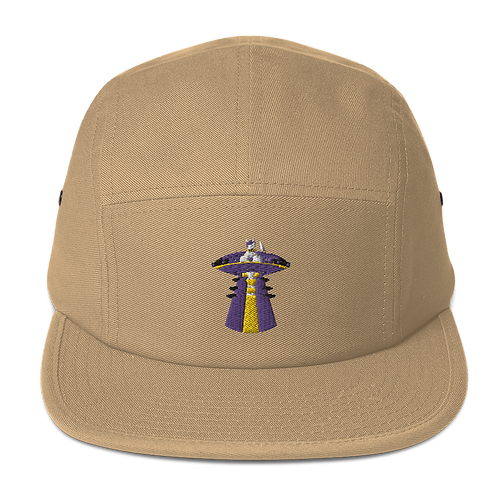 """""""UFO Beam"""" Embroidered Five Panel Cap"""