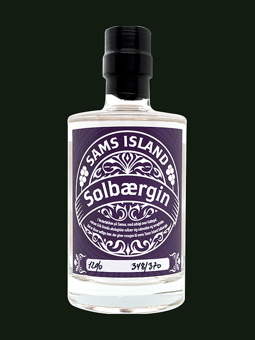 "Sams Island Solbaergin ""Blackcurrant"""