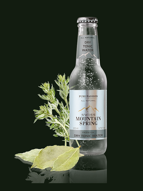 Swiss Mountain Spring All Natural Dry Tonic Water