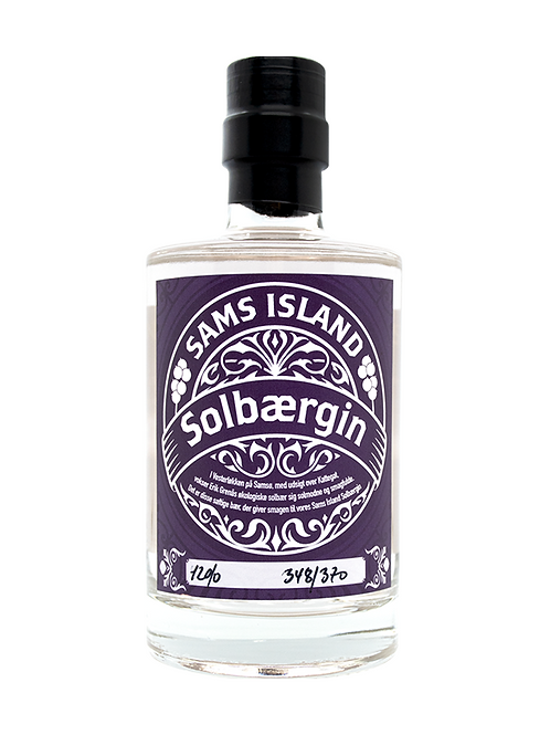 "Sams Island Solbaergin ""Blackcurrant"""