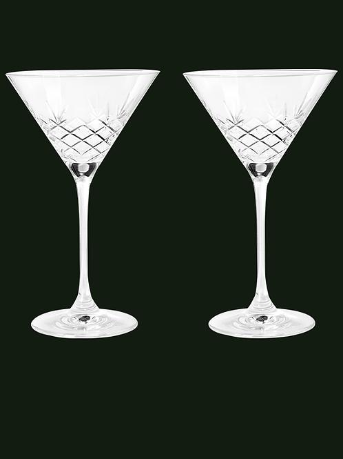 Crispy Cocktail Glasses by Frederik Bagger