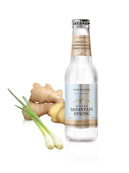 Swiss Mountain Spring Ginger & Lemongrass Tonic Water