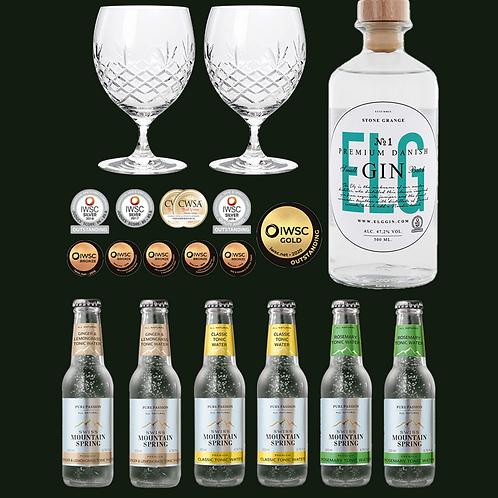 Elg Gin No. 1 Gin-Tonic Set