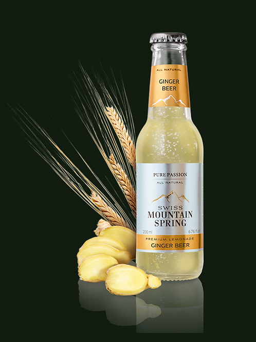 Swiss Mountain Spring All Natural Ginger Beer