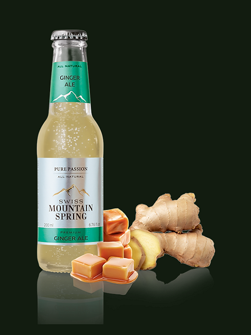 Swiss Mountain Spring All Natural Ginger Ale
