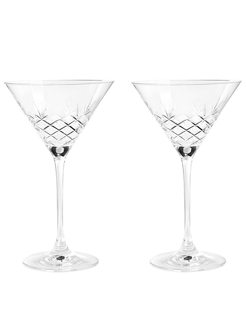 Crispy Cocktail Glasses by Frederik Bagger
