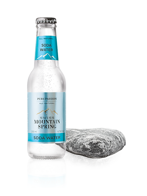 Swiss Mountain Spring All Natural Soda Water