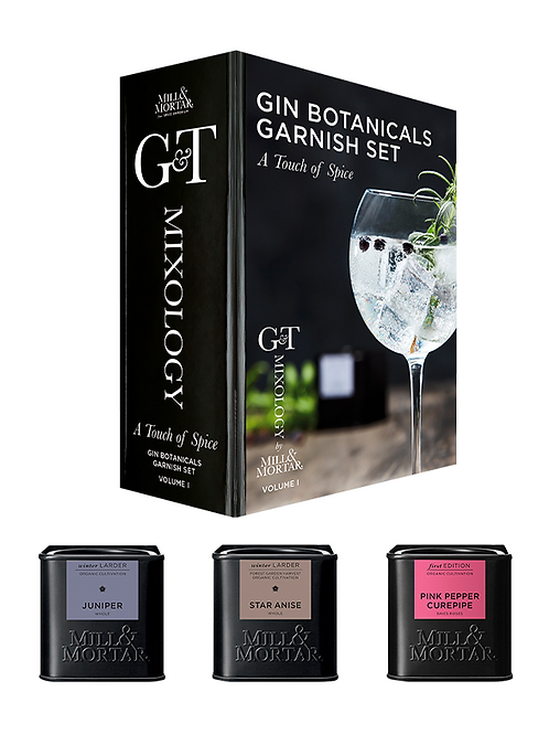A Touch of Spice Gin & Tonic Garnitur Set