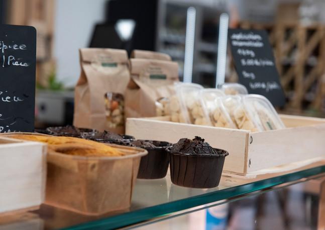 Cakes et gâteaux de la Ferme de Miribel.