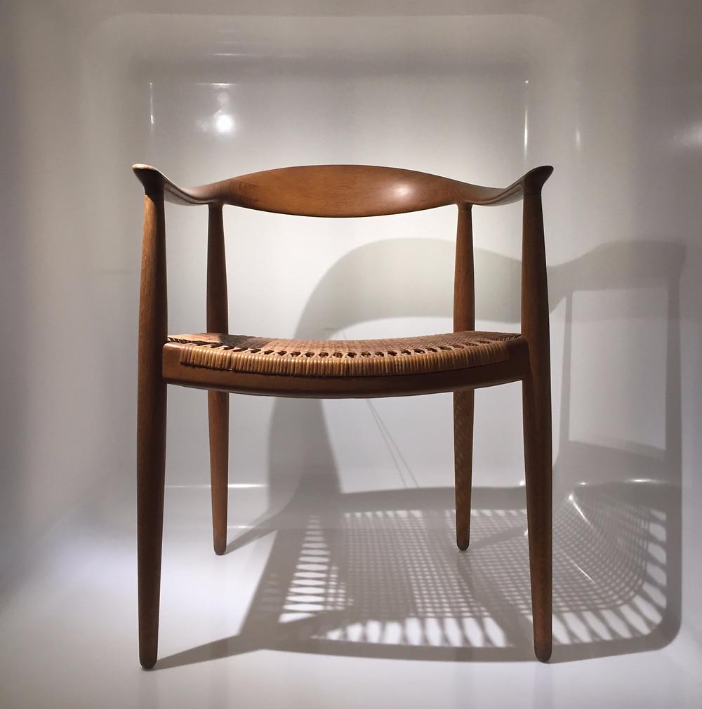 The Chair par Hans J Wegner - Musée du Design